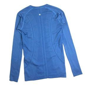 lululemon Run Swiftly Long Sleeve Shirt Size 6
